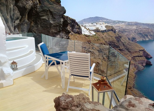 The Cliff Suite Balcony