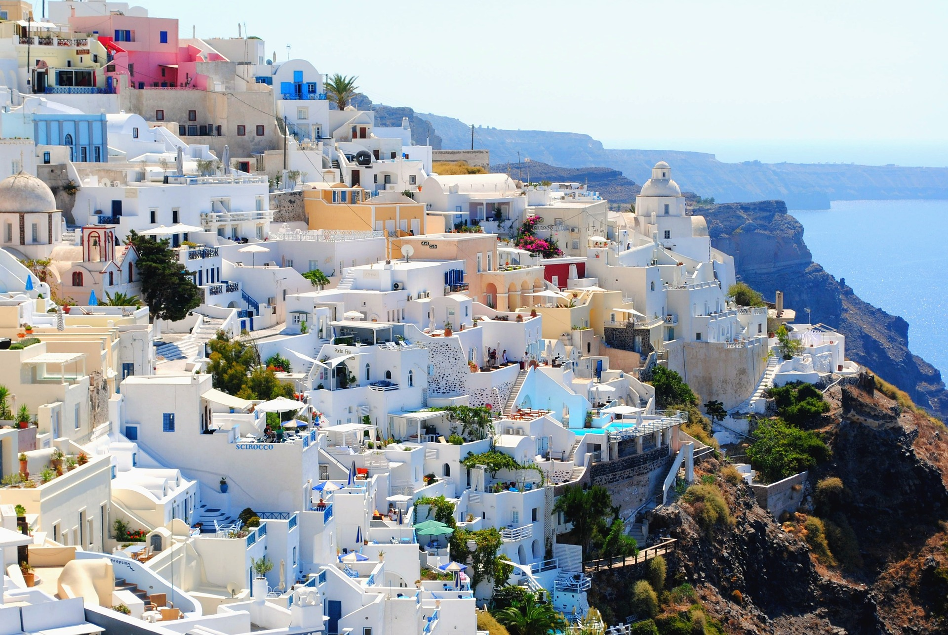Considerations When Going on a Vacation to Santorini with Your Baby